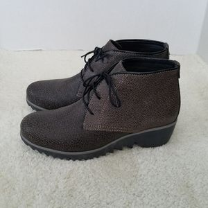 Wolky Comfort Lace up Shoes Dusky Winter